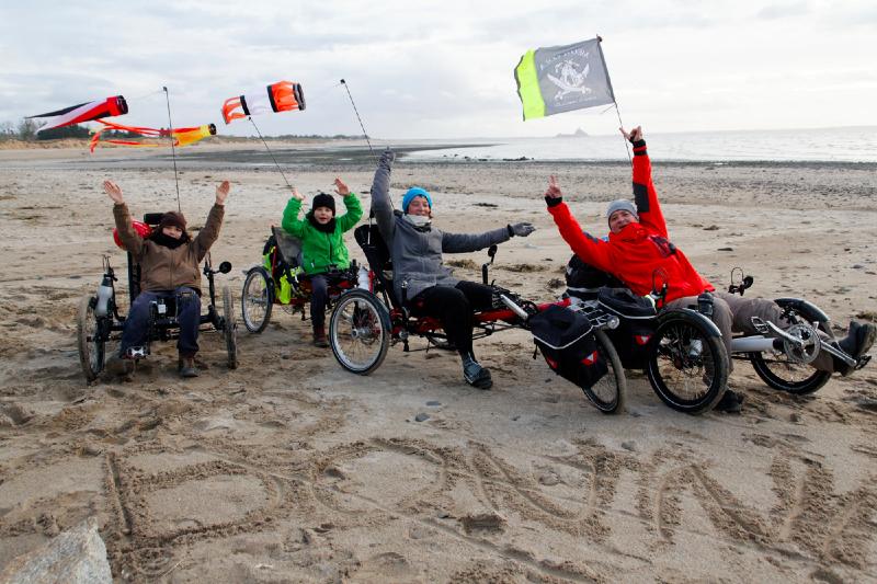 Un an pour parcourir l'Europe à vélo couché, le rêve d'une famille