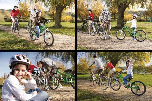 follow me installation rapide du tandem vélo