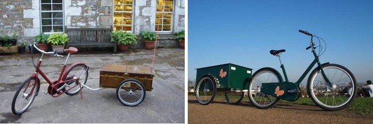 Vélos avec remorque Y Frame personnalisée