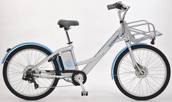 Le vélo électrique qui roule à l'hydrogène
