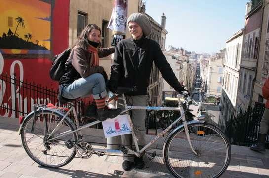 Marseille : Ça déménage à vélo