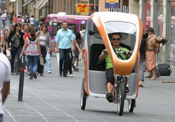 Les vélo-taxis de Cycloville sont de retour à Toulouse