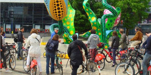 l'art contemporain lillois à vélo