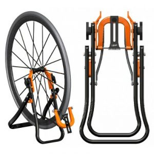Pied de centrage pour roue vélo Super B