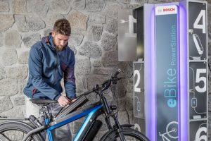 recharger batterie vélo électrique powerstation bosch