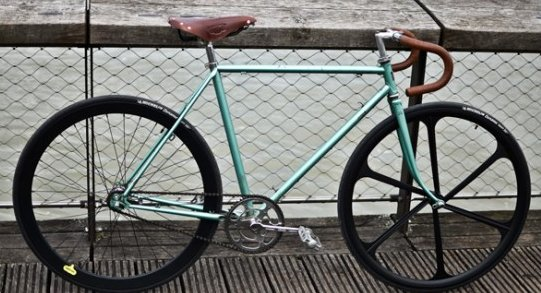 Selle Brooks sur fixie