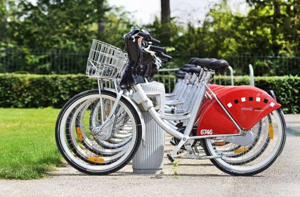 Le Vélo'V, vélo en libre service lyonnais, fête ses 8 ans