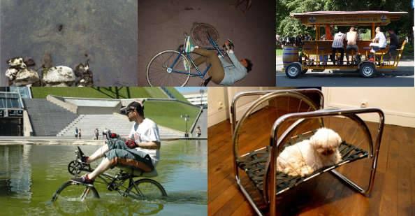 Concours « L'insolite dans le vélo » : Récapitulatif et derniers votes