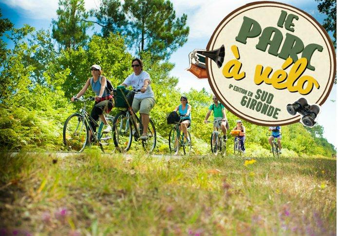 Le Parc à vélo, sous le signe de la Transhumance cette année