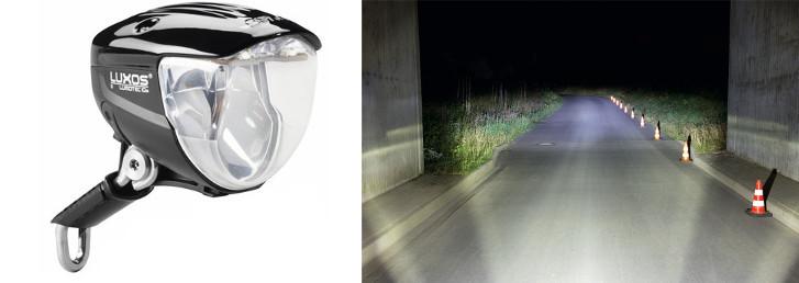 Eclairage vélo Luxos U Busch & Müller