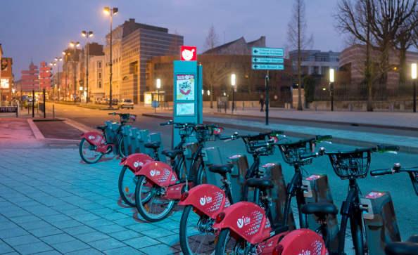 Le V'Lille alimente un concert pour fêter les deux ans du vélo en libre-service