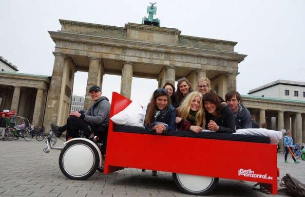 Berlin : Le vélo-lit pour visiter la Capitale