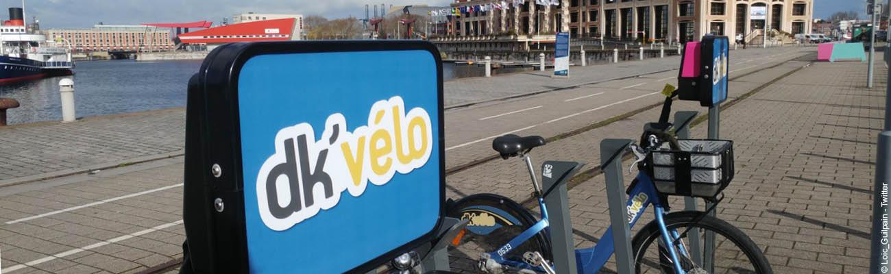 Le Dk'vélo, le service de VLS de Dunkerque