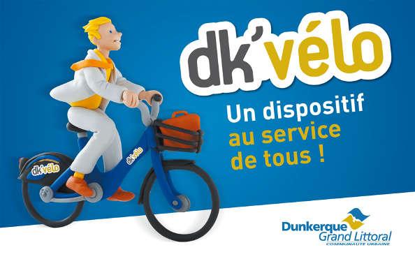Le Dk'vélo débarque sur Dunkerque