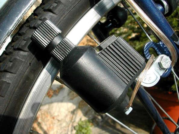 L'éclairage à vélo : les feux sur dynamo