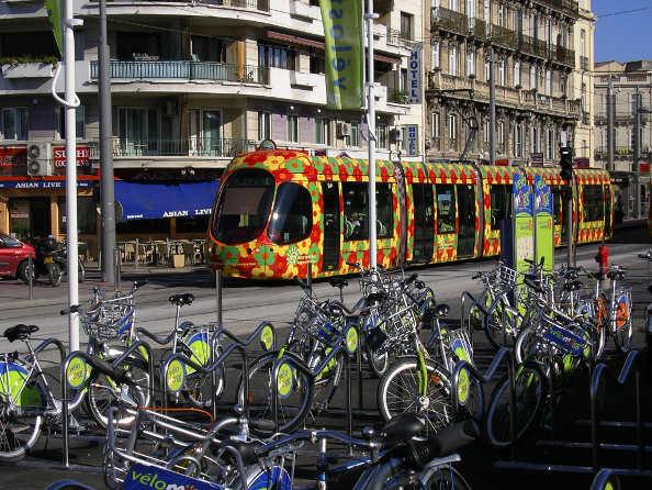 Découvrez Montpellier à vélo