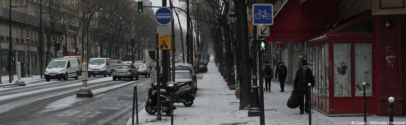 Le déneigement des pistes cyclables françaises encore trop rare