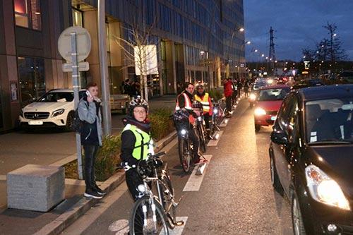 Les Dérailleurs de Caen se mobilisent pour faire entendre les cyclistes