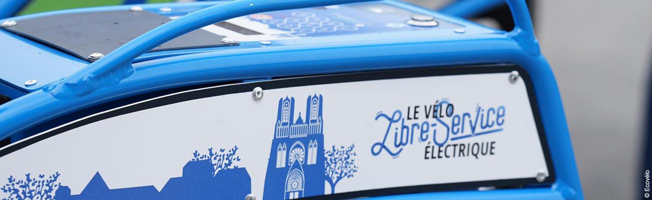 Ecovélo, la solution de vélo en libre-service électrique français