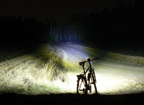 Lux, mesurer l'intensité lumineuse de son feu de vélo