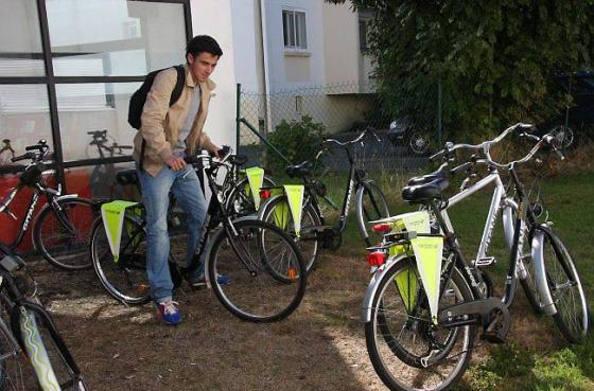Lorient met des vélos à disposition des étudiants