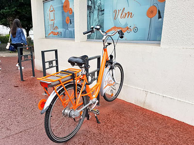 Le service V'Lim de vélo en libre service de Limoges était au départ destiné aux étudiants