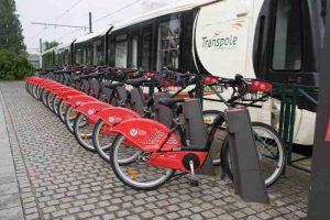 V'Lille, le vélo libre service lillois