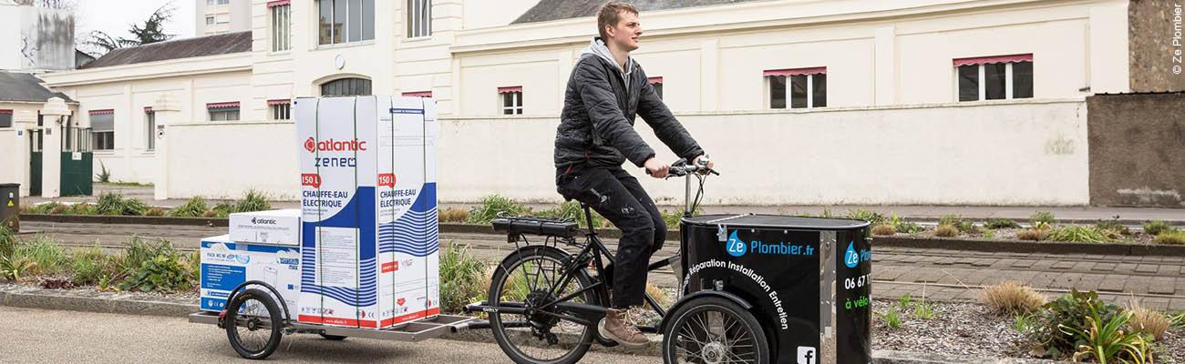 Entretien avec Ze Plombier : le vélo, l'avenir de l'entrepreneuriat ?