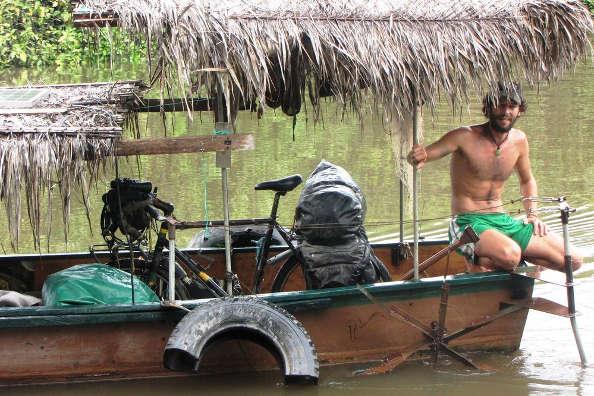 En vélo sur l'Amazone