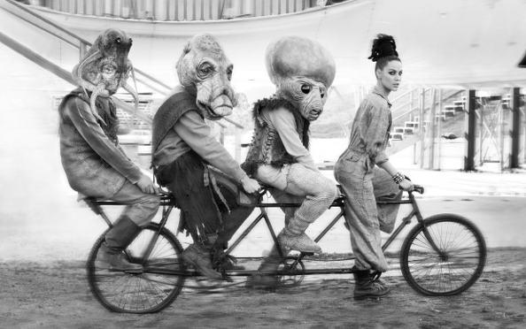 se faire des amis à vélo