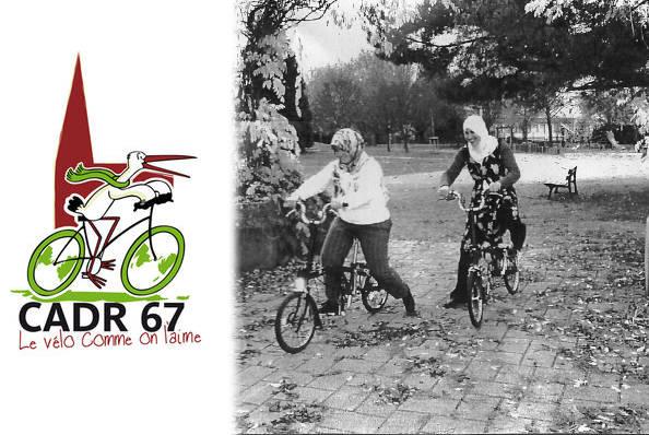 Strasbourg, des femmes l'immigration apprennent l'autonomie par le vélo