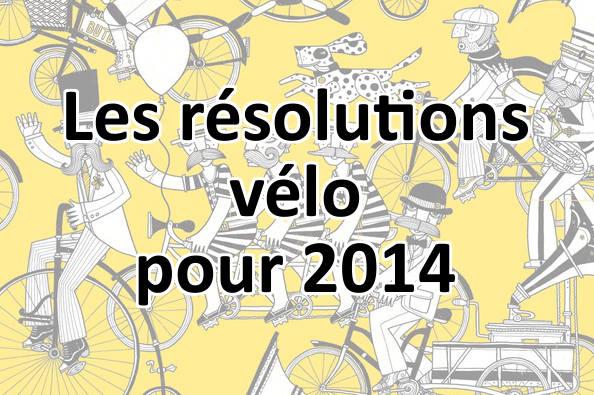 5 résolutions vélo à prendre pour 2014