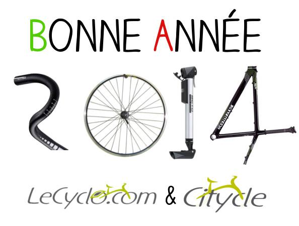 Citycle et Lecyclo.com vous souhaitent une bonne année 2014