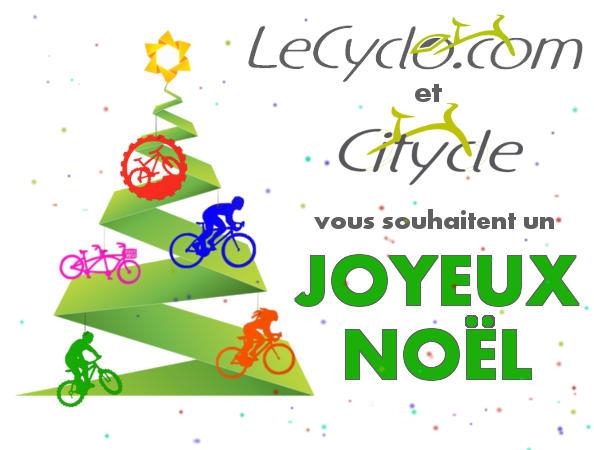 Citycle et Lecyclo.com vous souhaitent un Joyeux Noël
