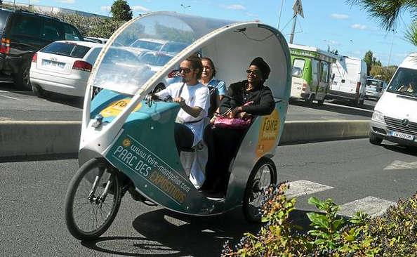Montpellier : les vélos cab mis en place
