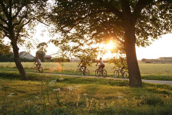 le tourisme à vélo dans la région Centre