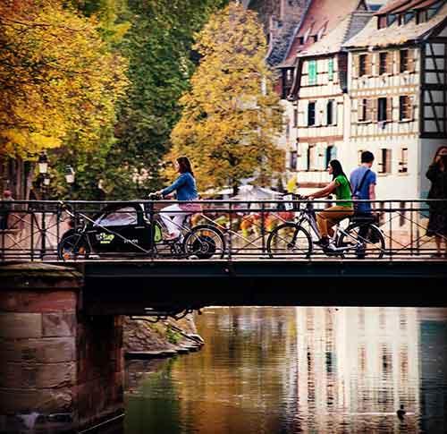Des Vélhop de tout genre dans les rues strasbourgeoises