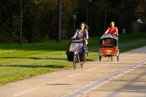 Vélhop permet la location de vélos cargos