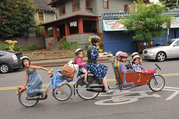 Une pétition pour pouvoir aller à l'école à vélo sans risque