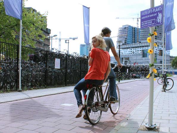 Un nouveau moyen de se déplacer : le vélo-stop