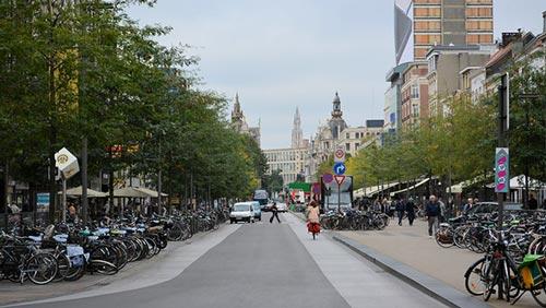 Anvers se classe sur le podium des villes les plus cyclables d'Europe