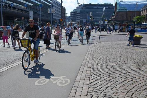 Helsinki entre dans le top 10 des villes les plus cyclables d'Europe