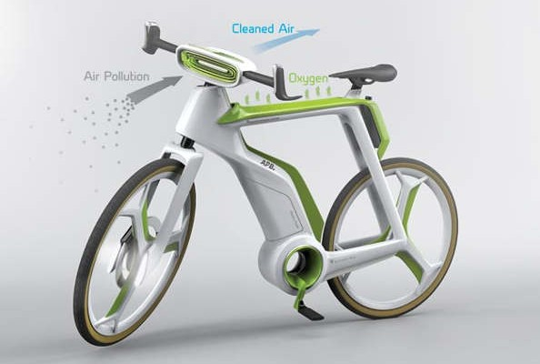 velo recycleur d'air