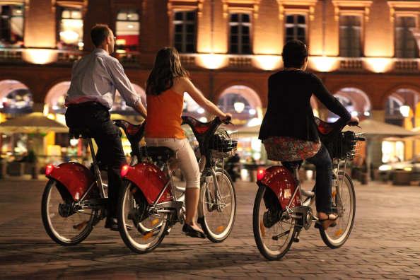 Premier comptage des cyclistes à Toulouse : le vélo est bien en progression