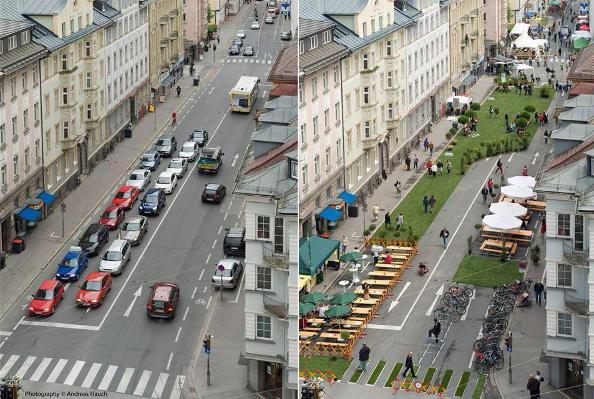 Les villes françaises donnent plus de place au vélo