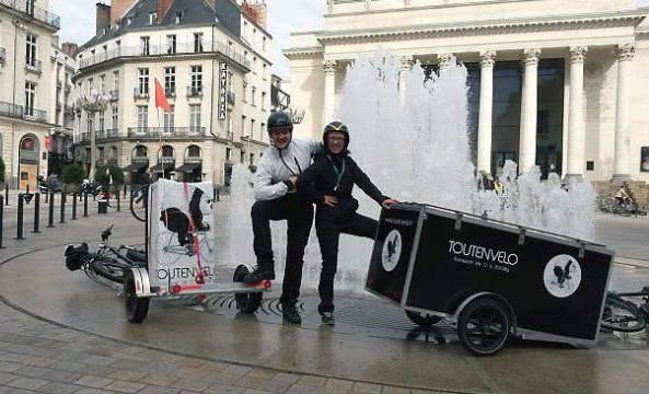 Déménagement écolo, économe et simple, le tout en vélo