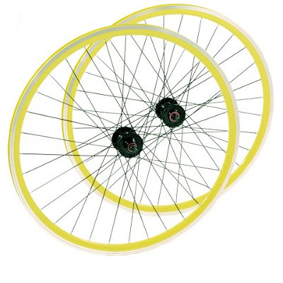 paire_de_roue_de_velo_fixie_single_speed_jaune_28_pouces