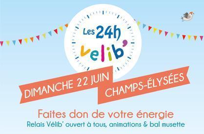 Happy Birthday le Vélib'