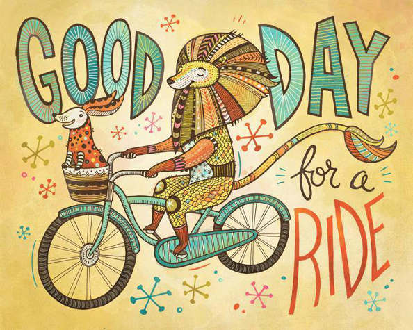 Le bonheur vient-il en pédalant? Il semblerait que oui, alors tous à vélo !