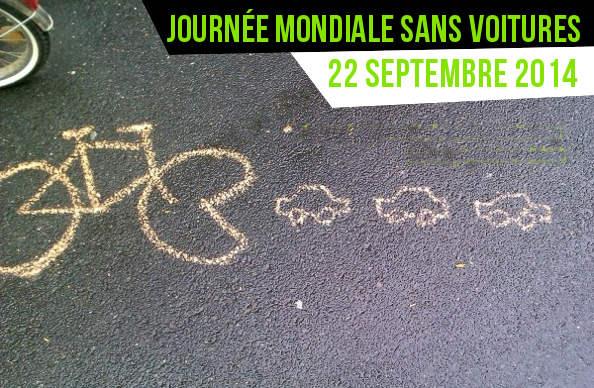 La Journée Mondiale sans voiture : Facile ! Je prends mon vélo !